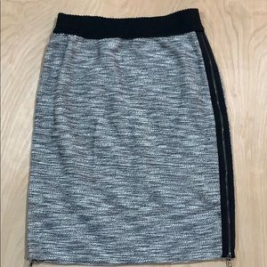 Leifsdottir Pencil Skirt w/ Zippers on Side Sz. S